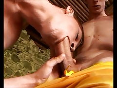 two young gay dudes having fun