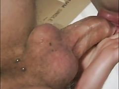 latin twink cocksucker doing his thing